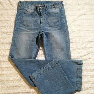 H&M Denim Flare Leg Jeans Size 31